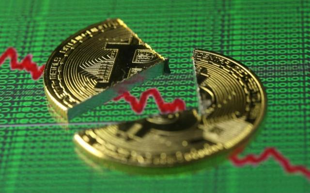 Is the Bitcoin bubble bursting? Bitcoin plunges 30pc as coin rivals gather steam