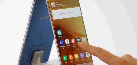 Samsung suspende produção do Galaxy Note 7